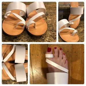 Shoes - White Summer Sandals